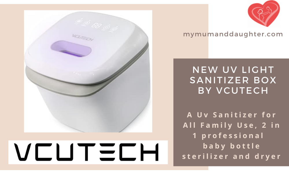 UV Light Sanitizer Box By VCUTECH- My Mum And Daughter