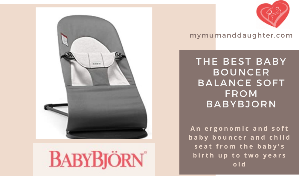 Baby Bouncer Balance Soft From Babybjorn-My Mum And Daughter